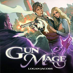 Gun Mage audiobook cover art