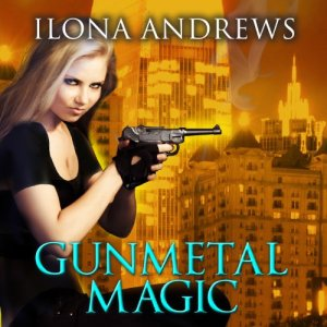 Gunmetal Magic audiobook cover art
