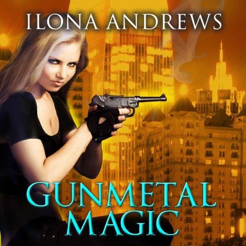 Gunmetal Magic audiobook cover art