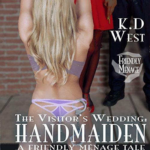 Handmaiden: A Friendly FFM Ménage Tale audiobook cover art