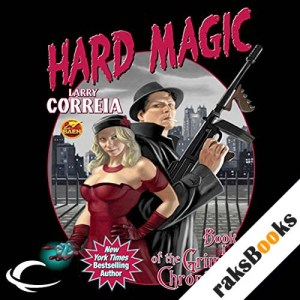 Hard Magic audiobook cover art