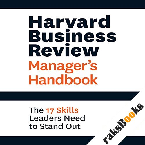 Harvard Business Review Manager's Handbook audiobook cover art