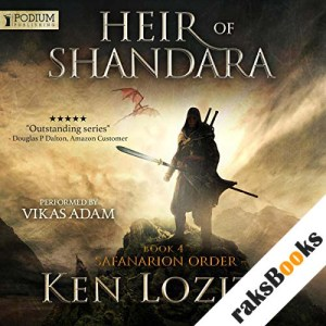 Heir of Shandara audiobook cover art