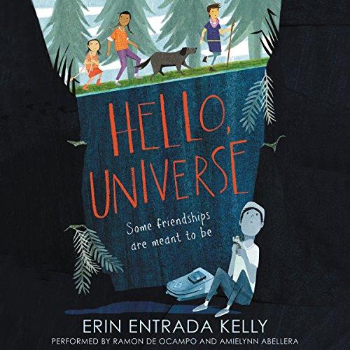 Hello, Universe audiobook cover art