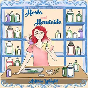 Herbs and Homicide audiobook cover art