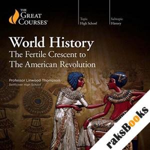 High School Level - World History audiobook cover art
