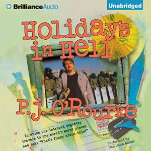 Holidays in Hell audiobook cover art
