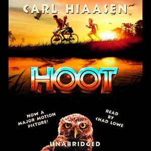 Hoot audiobook cover art