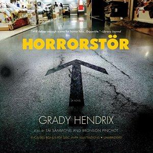 Horrorstör audiobook cover art