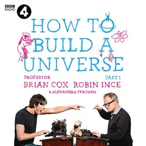 How to Build a Universe audiobook cover art