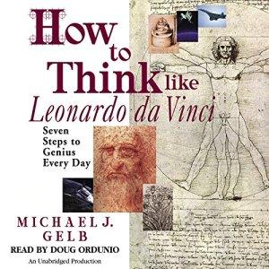 How to Think Like Leonardo da Vinci audiobook cover art