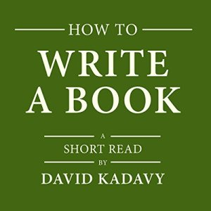 How to Write a Book audiobook cover art