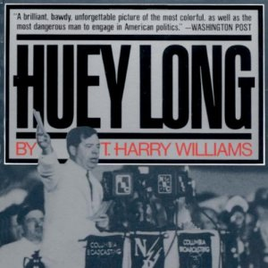 Huey Long audiobook cover art