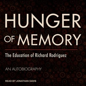 Hunger of Memory audiobook cover art