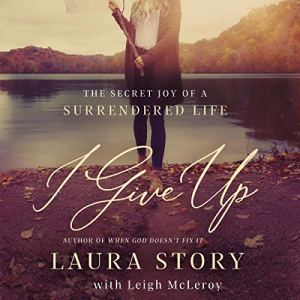 I Give Up audiobook cover art