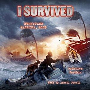 I Survived Hurricane Katrina, 2005 audiobook cover art