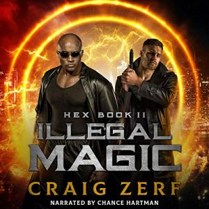 Illegal Magic audiobook cover art