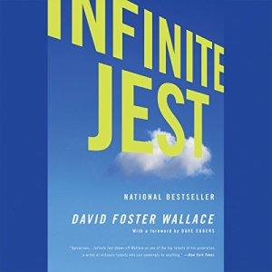 Infinite Jest audiobook cover art