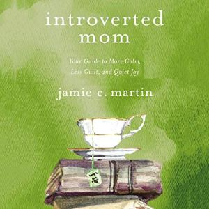 Introverted Mom audiobook cover art