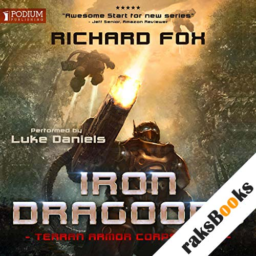 Iron Dragoons audiobook cover art