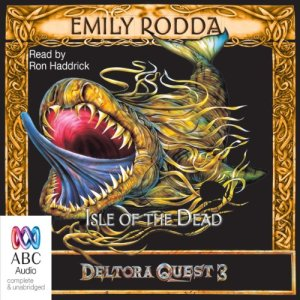 Isle of the Dead audiobook cover art