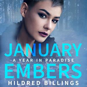 January Embers audiobook cover art