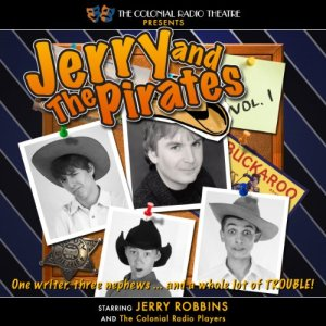 Jerry and the Pirates, Vol. 1 audiobook cover art