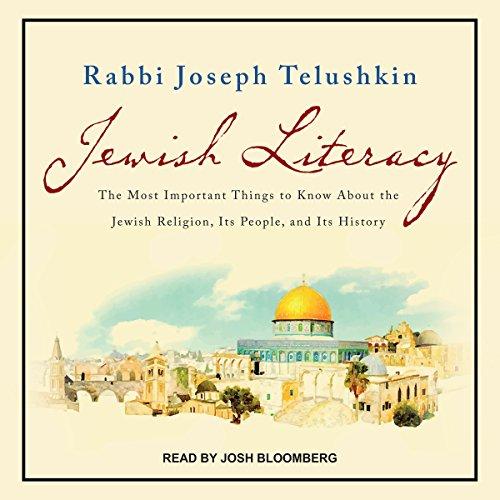 Jewish Literacy Revised Ed audiobook cover art