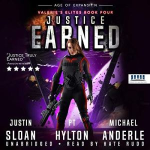 Justice Earned: Age of Expansion audiobook cover art