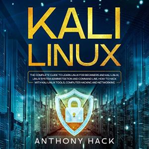 Kali Linux audiobook cover art
