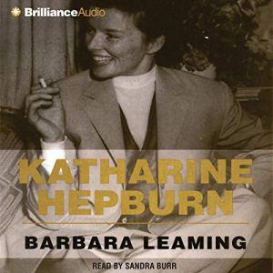 Katharine Hepburn audiobook cover art