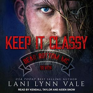 Keep It Classy audiobook cover art