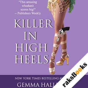 Killer in High Heels audiobook cover art