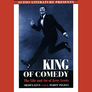 King of Comedy audiobook cover art