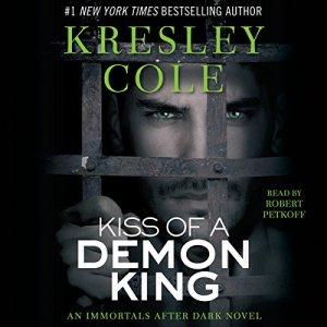 Kiss of a Demon King: Immortals After Dark, Book 7 audiobook cover art