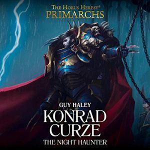 Konrad Curze: The Night Haunter audiobook cover art
