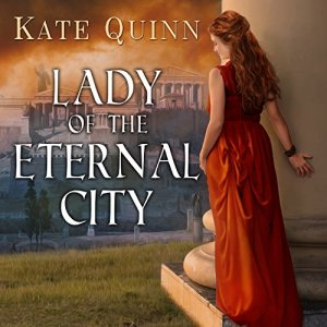 Lady of the Eternal City audiobook cover art