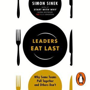 Leaders Eat Last audiobook cover art