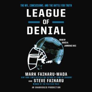 League of Denial audiobook cover art