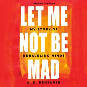 Let Me Not Be Mad audiobook cover art