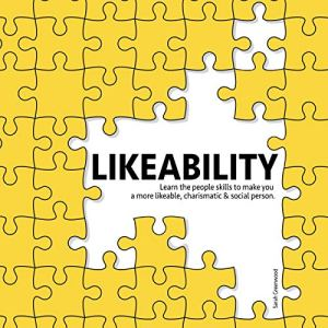 Likeability audiobook cover art