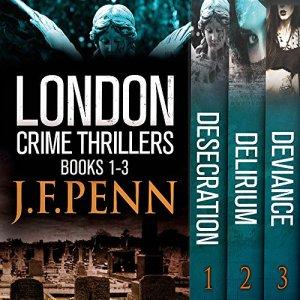 London Crime Thriller Boxset audiobook cover art
