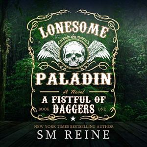 Lonesome Paladin: An Urban Fantasy Novel  audiobook cover art