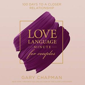 Love Language Minute for Couples audiobook cover art