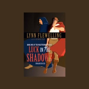 Luck in the Shadows audiobook cover art