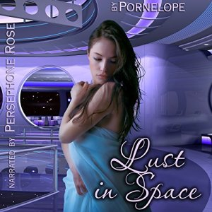Lust in Space audiobook cover art