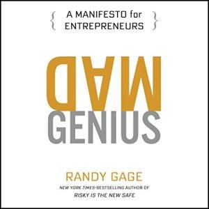 Mad Genius audiobook cover art