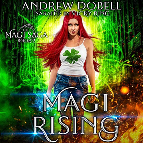 Magi Rising audiobook cover art