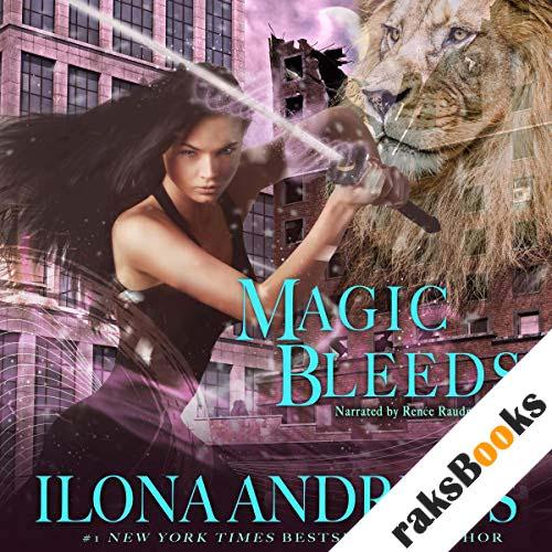 Magic Bleeds audiobook cover art