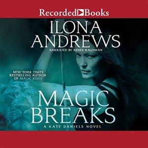 Magic Breaks audiobook cover art